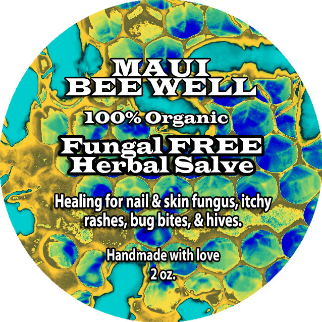 organic anti fungal salve