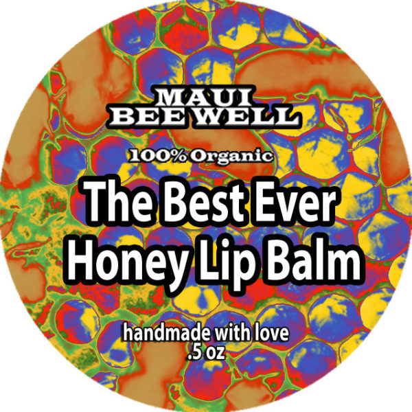 organic honey lip balm