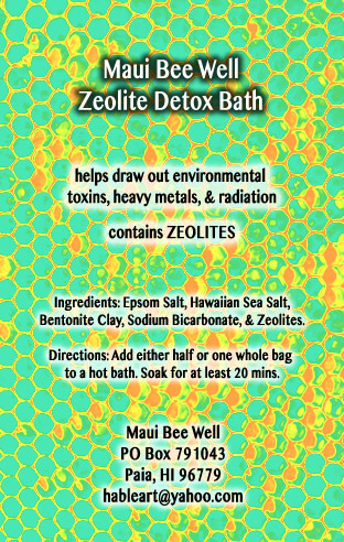 Zeolite Detox Bath | Maui Bee Well Zeolite Detox Bath