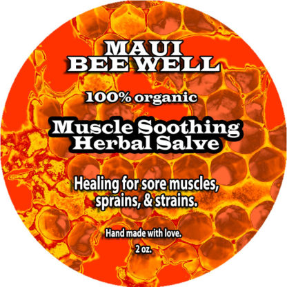 muscle soothing salve front